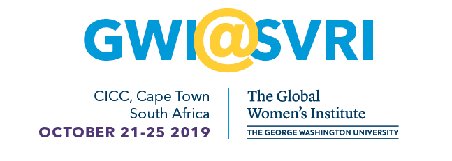 GWI at SVRI, October 21-25 2019 in Cape Town, South Africa