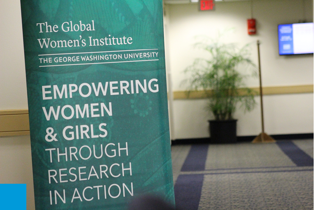 GWI Banner- Empowering women and girls through Research in action