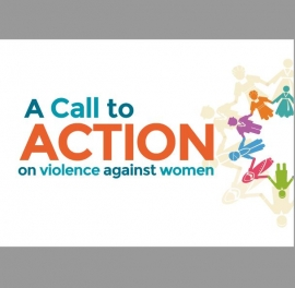 Guide cover: A Call to Action on Violence Against Women